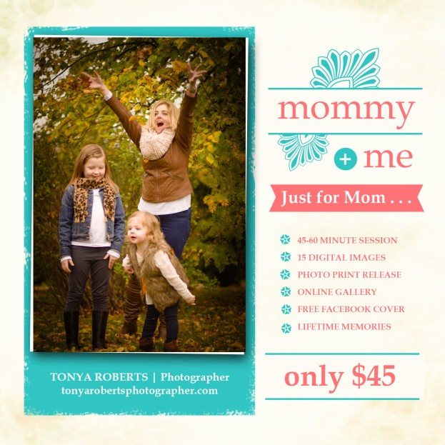 Mommy & Me Sessions - with price